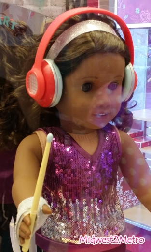 American Girl - 2017 Girl of the Year Gabriela McBride - Love to Dance & Make Music - www.Midwest2Metro.com